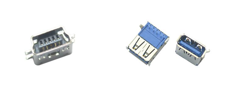 如hequ分USB连接器与HDMI连接器?