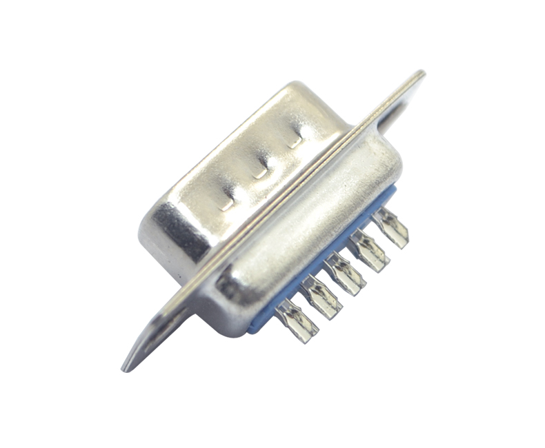 DB-9P 公头 传统焊线式