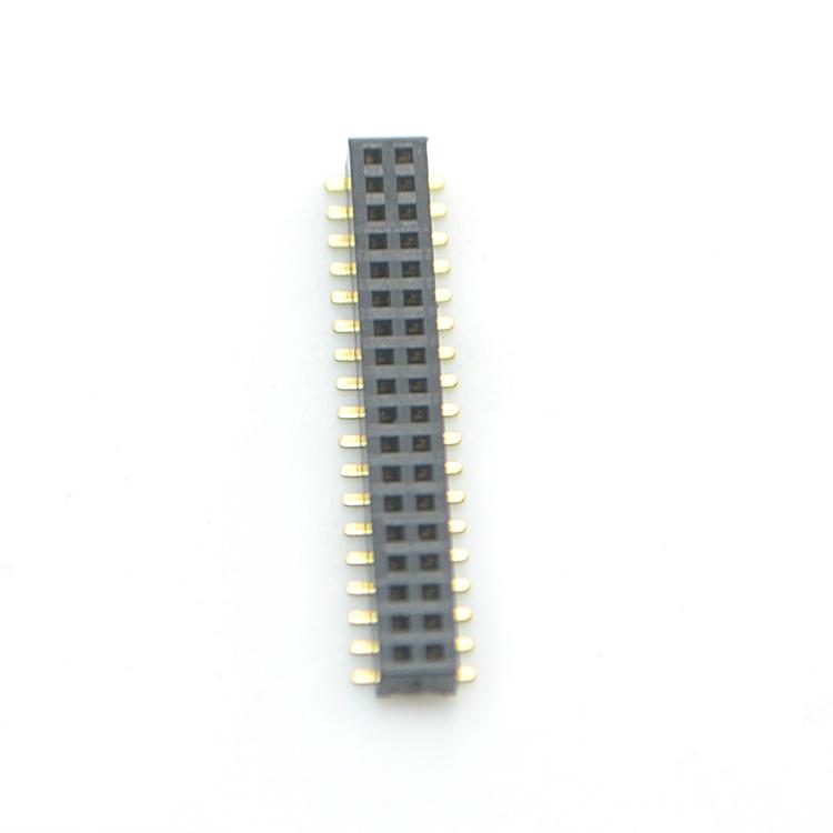 2.0间距 双排 SMT 塑gao3.4 排母