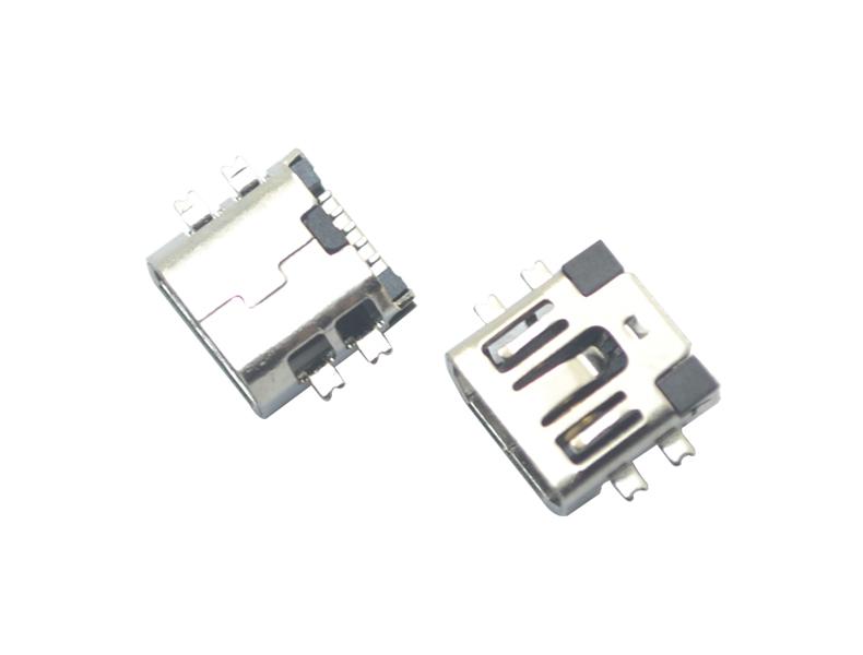 MINI USB 5P SMT AB型沉板式