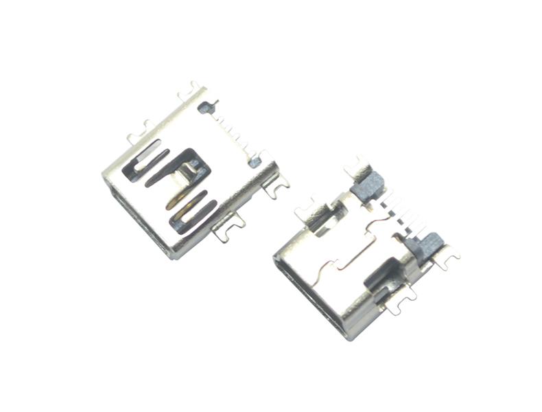 MINI USB 5P SMT B型沉板式