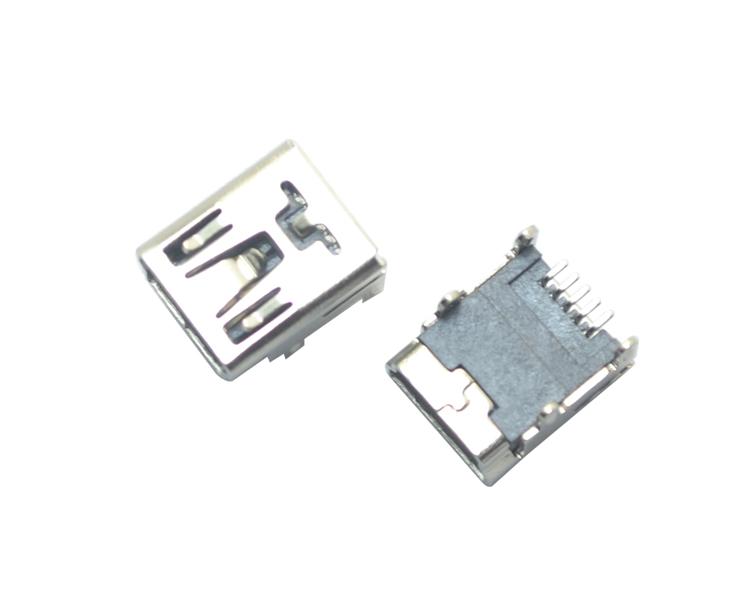 MINI USB 5P SMT B型四脚插
