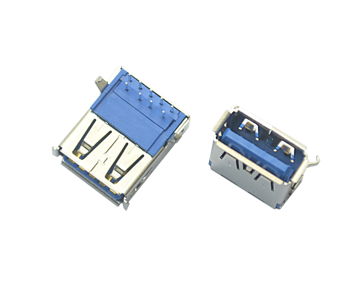 USB 3.0 A F 90°