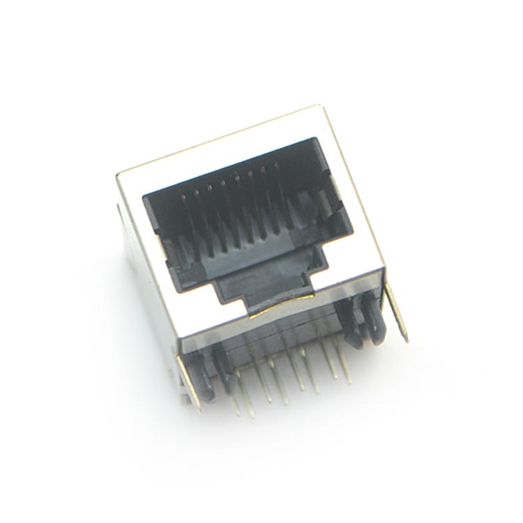 RJ45-10P8C duan体 弯插
