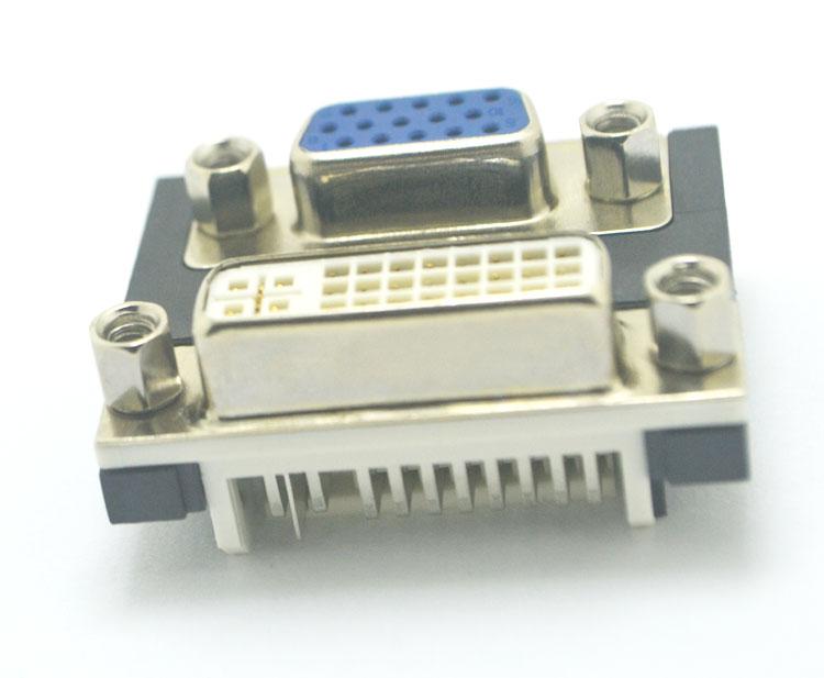 DVI24+5对slimlmu 间距19.05 锁4.8螺丝