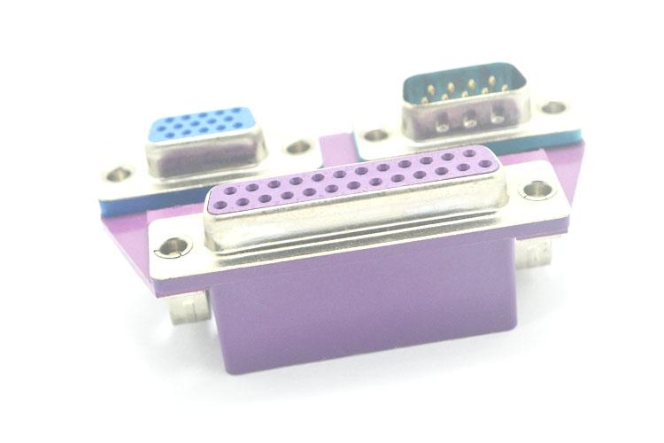 三合一DR25母对DR9公+HDR15母(5.08)