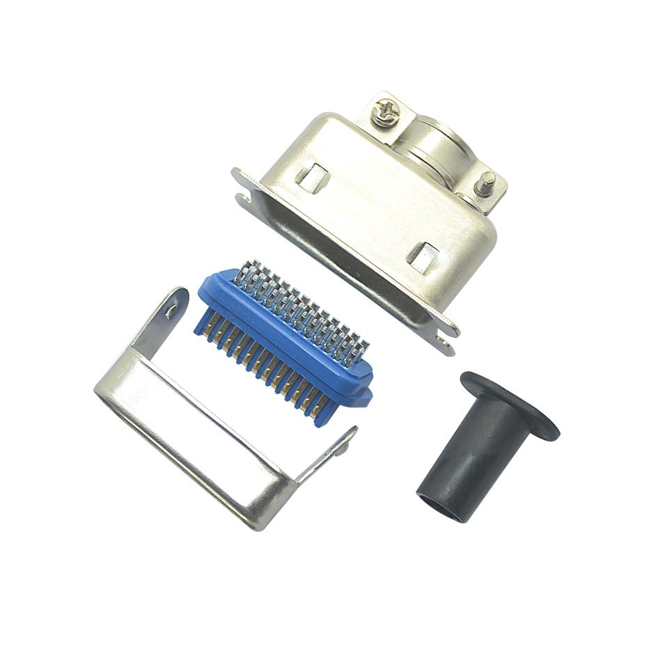 57-24P公dan芯焊线式+大铁ke