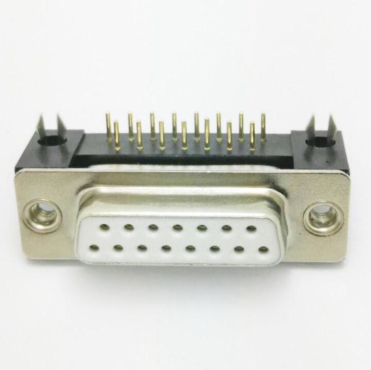 DMR-15P(母头)铆合车针白jiao连接器