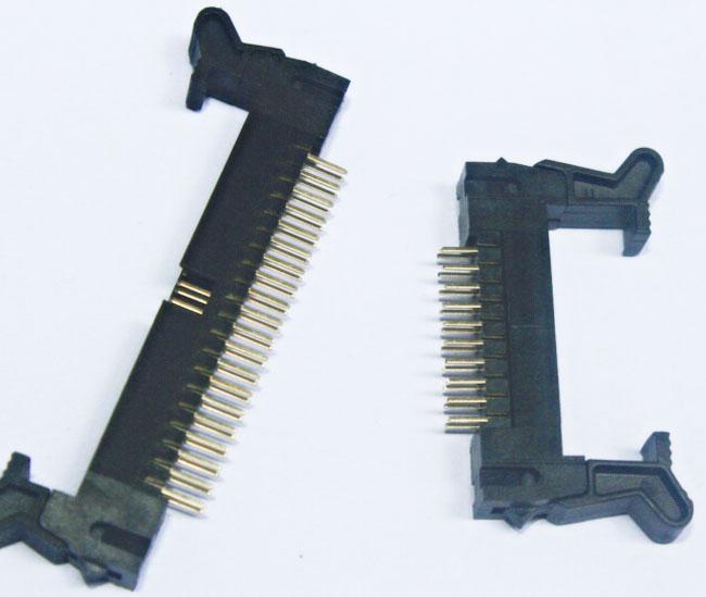 2.0mm连接器 直针牛角