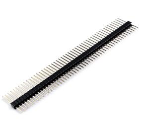 1.27单排直针排针连接器