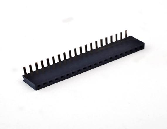 2.0单排立贴排母连接器