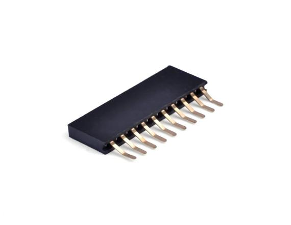 2.0单排卧贴排母连接器