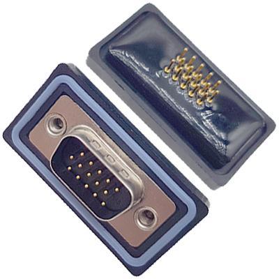 HDD15P公头180du插ban式高密dufang水車針 4.0mm(Z)卯釘 卯後殼